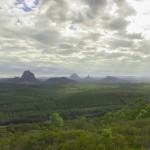 Australia, vista della valle Wild Horse Lookout