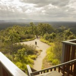 Australia, vista sentiero del Wild Horse Lookout