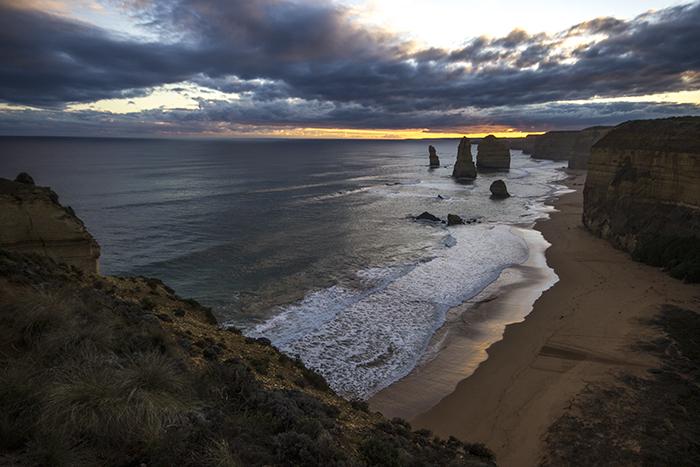 I magnifici 12 Apostoli alla luce del tramonto