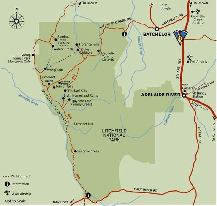 Litchfield-Map