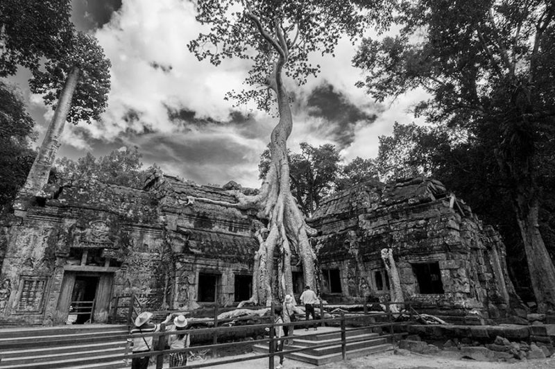 Cambogia, Angkor Wat foto del tempio raffigurato nel film Tomb Rider