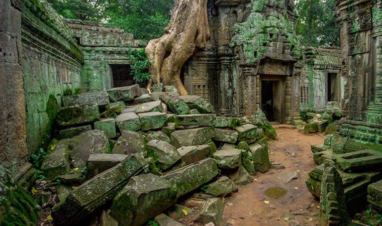 Cambogia, complesso templi di Angkor Wat, uno dei templi Kmer